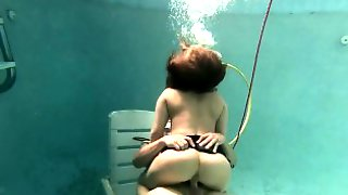 Carmen Valentina Is An Underwater Cock Slut