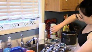 Sudsy Dish Washing