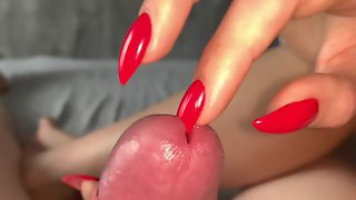 Evening And Morning Handjobs, Sharp Nails, Cumshot, Insertion.