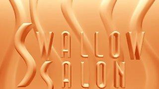 NAUGHTY GIRLS SWALLOW COCK & BALLS At SWALLOW SALON - TRAILER COMPILATION