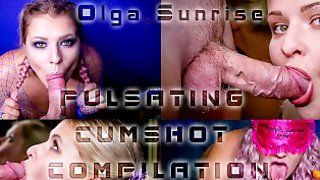 THE BEST THROBBING AND PULSATING CUMSHOT COMPILATION BY AMATEUR COUPLE