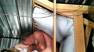 Old 70+year Old Drug Dealer Daddy Fucks His Barely Legal Sissyslut Bareback