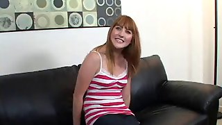 'amateur' Cutie Has Her Redhead Pussy Pumped Full Of Cum
