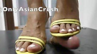 Filipina Yellow Heels Shoejob