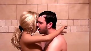 Blow-up Doll Gets Rammed In The Shower