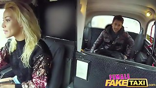 Female Fake Taxi Sexy Wild Blonde Sucks And Fucks Italian Cock