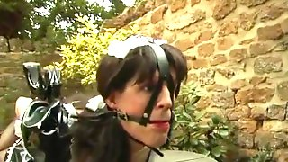 Sissy Maid Put Into Bondage By Two Hot Mistresses