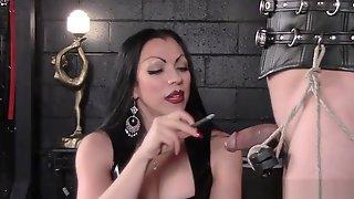 Mistress Cheyenne Smoking CBT