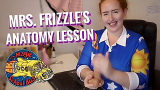 Mrs. Frizzle Teaches You Sex-ed, Gives You Jerk Off Instructions