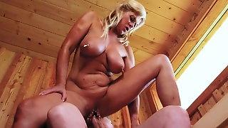 German Big Saggy Tits Marina Montana