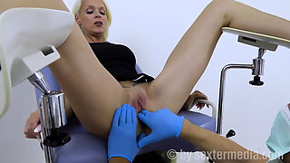 Sophie Logan At The Gyn Examination