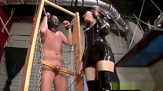 Mistress Has No Mercy For His Slave