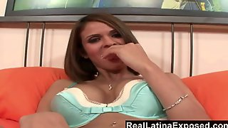 Whore With Fake Boobs Shy Love Shows Off Her Sexy Feet And Gets Fucked Hard