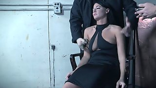 Mature Mistress London River Finds Herself A Well Hung Man To Abuse