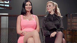 Hardcore Lesbian BDSM Session With Cherie Deville And Jasmine Jae