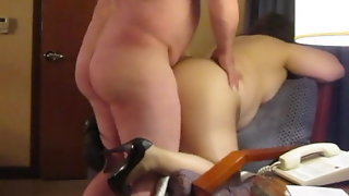 Atlantic City Hotel Pantyhose BJ And Fucking