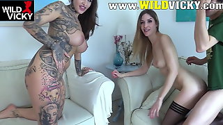 Wild Vicky - Nerd Is Shooting His First Porn