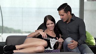 Lavana Lou Gets Her Tiny Butt Banged By A Boyfriend After Fingering