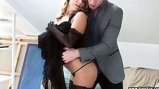 Captivating Russian Babe Sofi Goldfinger Enjoys Having Sex For Money