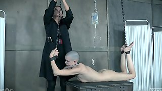 London River Ties Up Abigail Dupree And A Guy Together For Torture