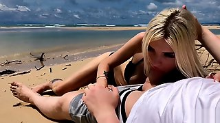 Public Sex On The Island, Cumming In My Panties - Freya Stein