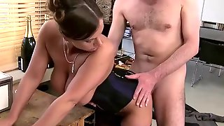 Old Stepmom Does Humiliation Fuck From Brother