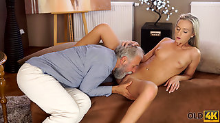OLD4K. Horny Geography Teacher Gives Student A Hot Sex Lesso