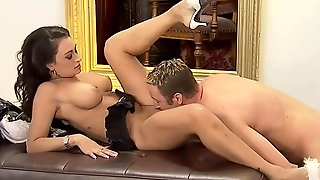 Beautiful Stepmother Gets Anal Creampie By Stepson