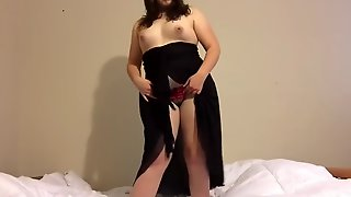 Chubby Teen Strips And Dances For You