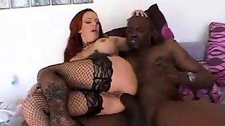 Pregnant Redhead Interracial Hardcore Sex
