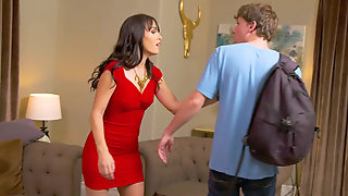 Hot Milf Alana Cruise Teaches Her Sons Friend Sex