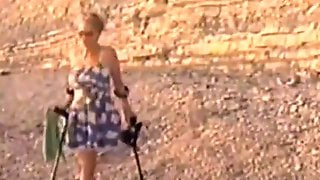 Tatiana Amputee On The Black Sea