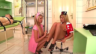 Nurses Play With Each Other - DDF Productions