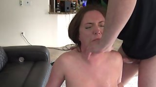 Maddy OReilly Gagging, Slapping, Choking Face Fuck