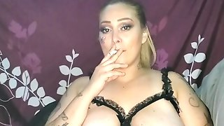 Sexy Latina Smokes Sucks Fucks To Cum In Mouth And Facial
