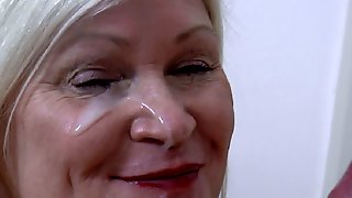 Army Guy Gave Dr Lacey A Nice And Warm Facial
