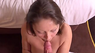 Milf With Monstrous, Inborn Orbs Is Having Strong Anal Invasion Orgy And Attempting Not To Scream Too Noisy