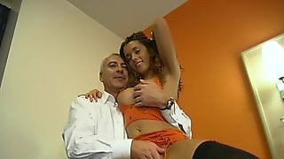 Blue Eyed Beauty Aaliyah Missionary Fucked In Leather Boots