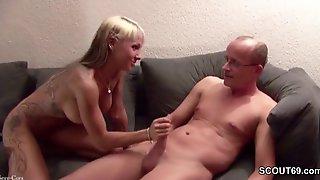 Mature Guy Is Gonna Fuck Superb Tatooed Hooker