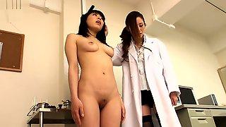 Japanese Doctor Gloved Examination 1