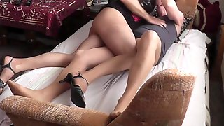 Older Crossdressers Enjoy Each Other