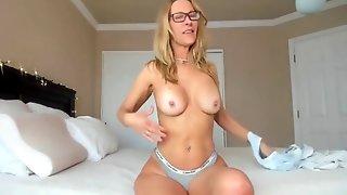 Stunning Milf Fucks Her Ass