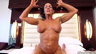 Hottie And Very Big-Titted Housewife Whore Gets Have Intercourse - Mom