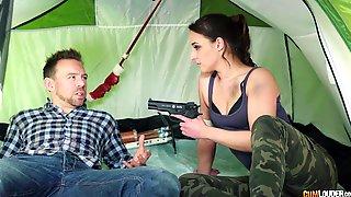 Naughty Babe Amirah Adara Wants His Whopping Prick