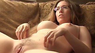 Rubbing My Swollen Clit And Pussy Lips