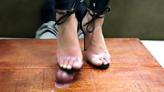Goddess JMACC - A Pretty Shoe Deserves A Big Cumshot