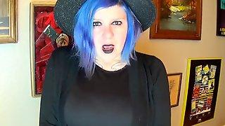 Goth Girl Beautiful Agony Masturbation Orgasm Cum