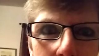 Cocksucking Gilf In Glasses