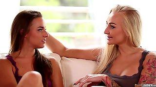 Assfuck Family 3Some Group Sex - Amirah Adara And Kayla Green