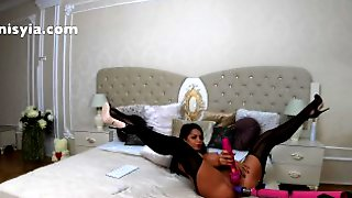 4k Magic Wand And Fucking Machine, Anisyia Livejasmin Will Cum For You